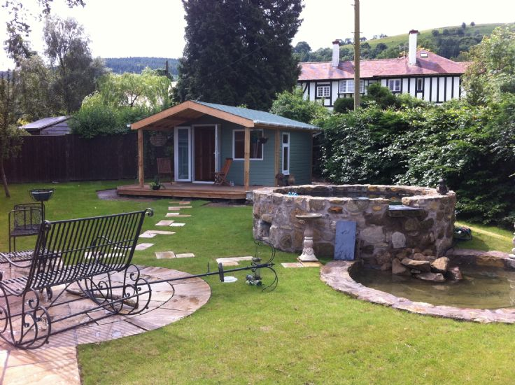 ... Garden Design And Build,Car Port U0026 Landscaping   Llangollen ...