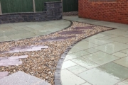 Graveled up and finished
